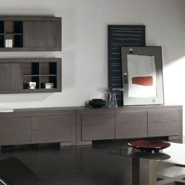 decorar salon con muebles oscuros